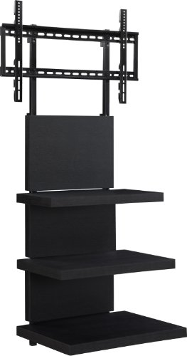 Altra Furniture Hollow Core AltraMount TV Stand for Flat Panel TV's between 37-Inch to 60-Inch, Black Espresso