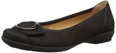Gabor Womens Garda Ballet Flats 84.231.17 Black 3.5 UK, 36 EU