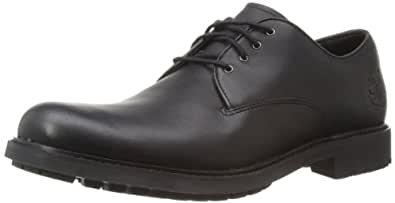 timberland s black smooth leather formal shoes 11 uk