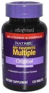 My Favorite Multiple, Original Multivitamin, 120 Tablets by Natrol
