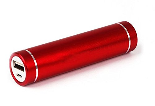 Big Digital 2600mAh Lipstick-Sized Power Bank
