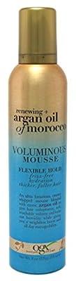 Ogx Argan Oil Of Morocco Voluminous Mousse Med Hold 8oz