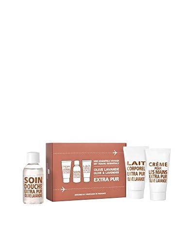 Compagnie de Provence Körperpflege Kit 3 tlg. Set Extra Pur Olive Lavande