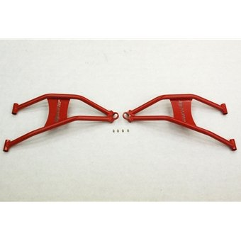 Max Clearance Front Lower Control Arms for Polaris RZR 900 XP - Red
