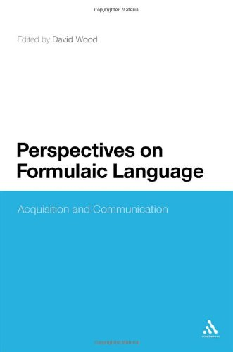 Perspectives on Formulaic Language: Acquisition and Communication