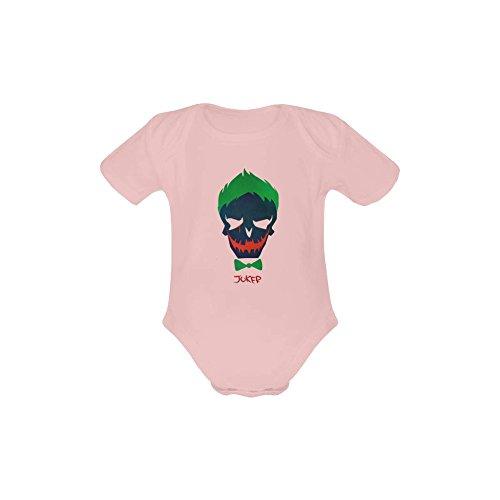 Jonnert Unisex Suicide Squad Baby Short Sleeve One Piece