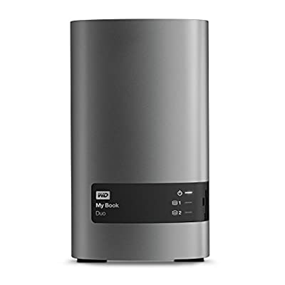 WD 8TB My Book Duo Desktop RAID External Hard Drive - USB 3.0 - WDBLWE0080JCH-NESN