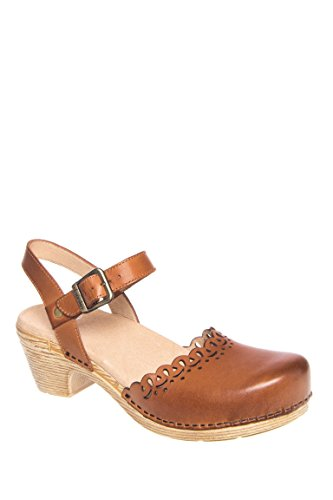 Marta Full Grain Low Heel Sandal