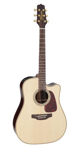 Takamine Series 5 Dreadnought Body Acoustic Electric With Case