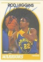 Rod Higgins Golden State Warriors 1989 Hoops Autographed Hand Signed Trading Card -... by Hall of Fame Memorabilia