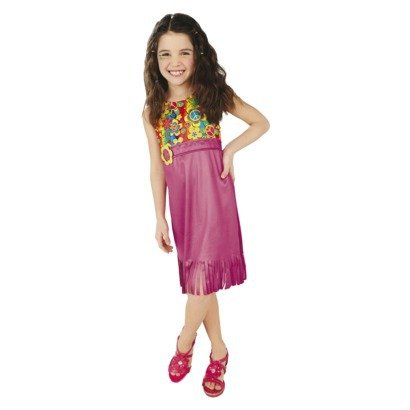 Girl's Flower Child Dress Costume - Small (4-6)