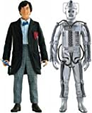 Dr Who Exclusive 2nd Doctor & Cyber Tombs Cyberman (Colour Version)