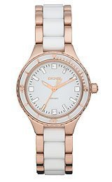DKNY Ceramic White Dial Women's Watch #NY8500