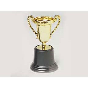 Plastic Goldtone Trophies (1 per package)