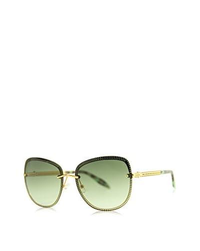 Mila-ZB Occhiali da sole 022S-06 (60 mm) Verde/Dorato