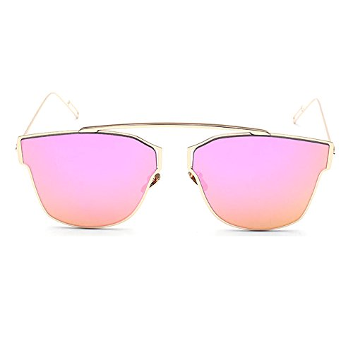 TIJN-Fashion-Flat-Brow-Bar-Frame-Non-Polarized-UV400-Mirrored-Sunglasses