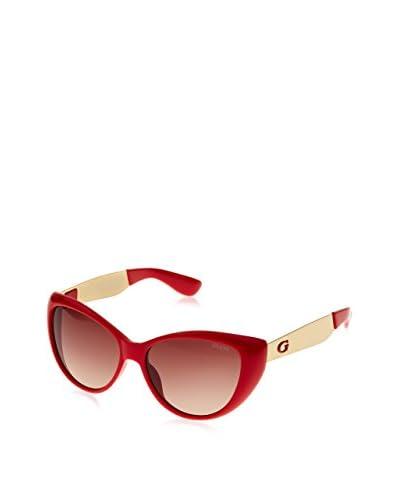 Guess Gafas de Sol GU7372 (56 mm) Rojo Oscuro