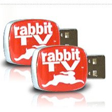 Rabbit TV USB Entertainment System (2 PACK)