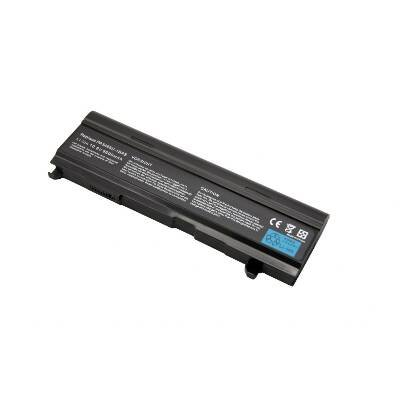 Laptop/Notebook Battery for Toshiba Satellite A100-S8111TD(with Intel Celeron CPU) - 9 cells 6600mAh Black