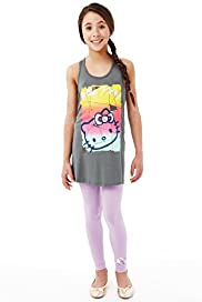 Hello Kitty Sleeveless Top & Leggings Outfit