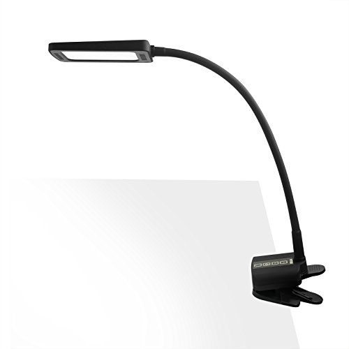 TROND Halo 11W-C LED Clamp Light Desk Lamp with USB Charging Port (Premium Diffusion Film, 5 Lighting Modes, 5-Level Dimmable, 30-Minute Timer, Flexible Gooseneck, Glare-Free) (Function Led Eye Protection compare prices)