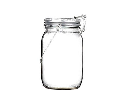 sun jar von casabasics attraktive und hochwertige solarlampe im einmachglas mit 4 leds. Black Bedroom Furniture Sets. Home Design Ideas