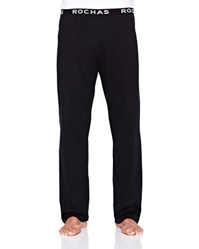 Rochas París Pantalón de Pijama Black Pants   Pyjama Negro