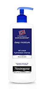 Neutrogena Deep Moisture Lait Corps Hydratation Intense Pompe 400 ml