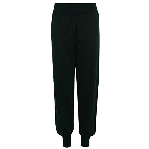 Be Jealous Damen Trainingsanzug Hose Fleece Jogginghose Oder Sweatshirt Übergröße - Flaschengrün Hose, 40-42