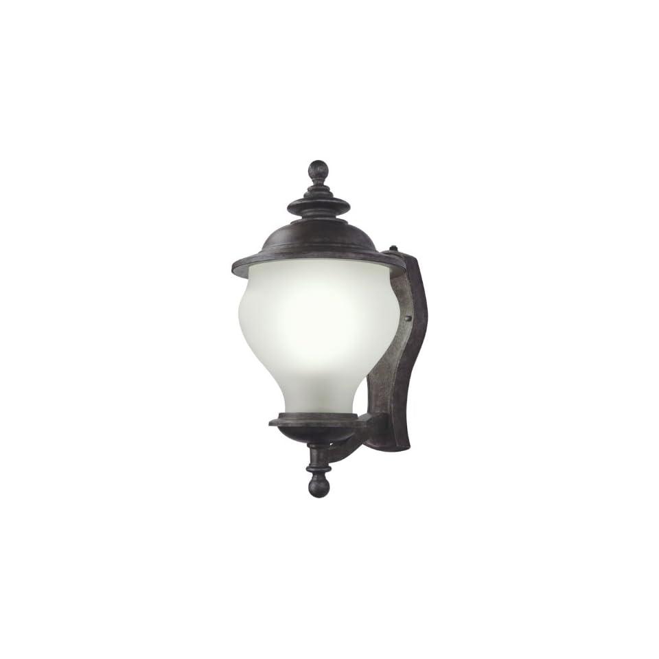 Lithonia ODML11SRC, Weston Energy Star Outdoor Wall Sconce Lighting, 18 Watts Fluorescent, Silver
