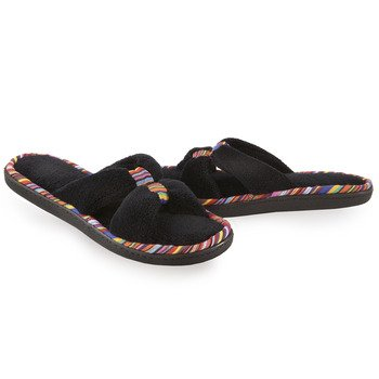 Cheap Isotoner Women's Cabanas Microterry Safari X Slide Slippers (B007QOWNV2)