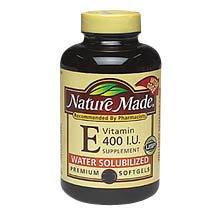 Nature Made Natural Vitamin E Softgels, 400 I.U., 225-Count
