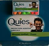 Quies Ear plugs - Earplugs 35dB-3 Pairs 12 Pack