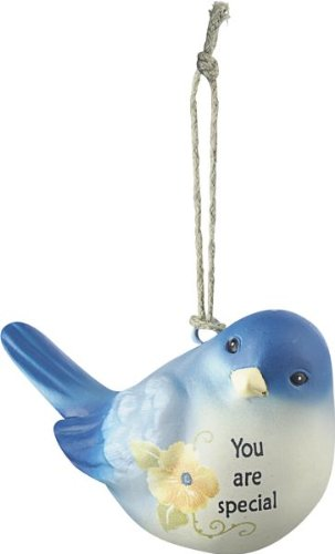 Ganz You are Special Blue Bird Of Happiness Ornament Measures: 2.25″ x 2″
