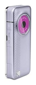 Kodak PlayFull ZE1 Full HD 1080P, Image Stabilisation with Built-in USB Arm - Purple/Silver