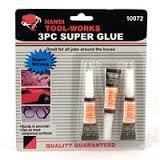 Handi Tool-Works 3 Piece Super Glue