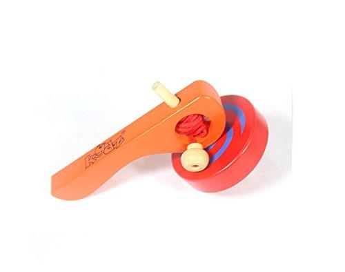 MXtechnic Colori Trottola in Legno per Bambino
