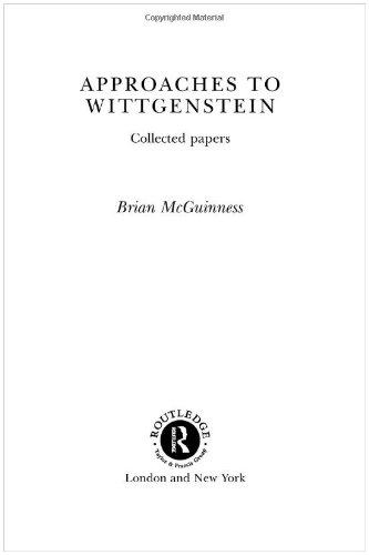 Approaches to Wittgenstein