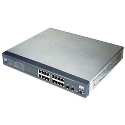 Cisco SRW2016 16-port Gigabit Switch - WebView