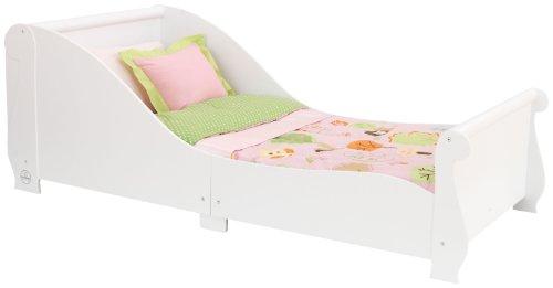 Kidkraft Sleigh Toddler Bed 86730 Furniture (White)