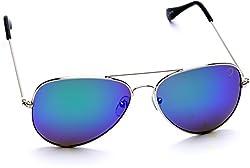 Optis Aviator Sunglasses (Silver) (SRSXC2L4)