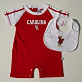 South Carolina Colosseum Infant Romper - Detachable Bib