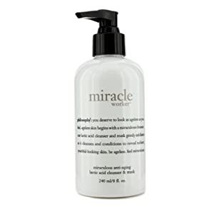 Philosophy Miracle Worker Miraculous Anti-Aging Lactic Acid Cleanser & Mask 240ml/8oz
