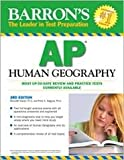 img - for Barron's AP Human Geography 3th (third) edition Text Only book / textbook / text book