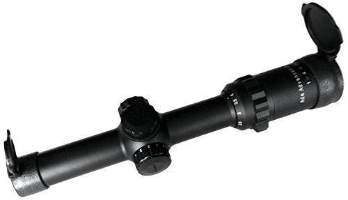 Ade Advanced Optics 2402Ir 1-4X24 Multi Coat Rifle Scope With Illuminated Donut Dot