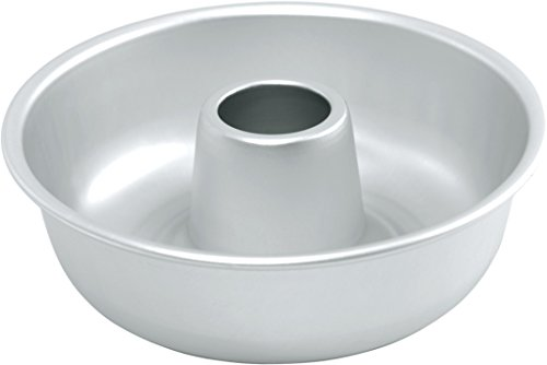 Fat Daddio's Ring Mold Pan, Silver - 10 Inches by 3.5 Inches
