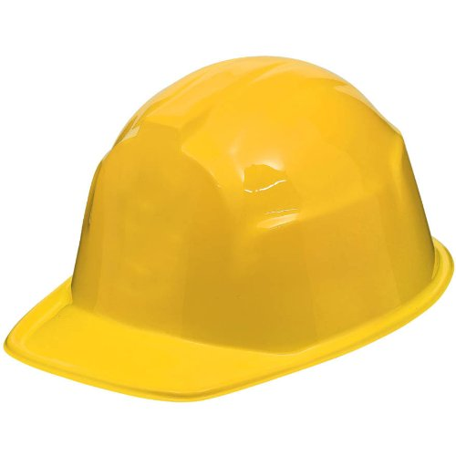 Yellow Construction Hat - 1