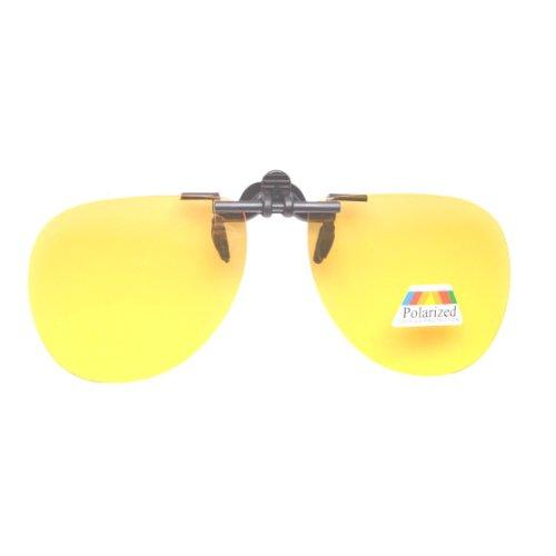 Eyekepper Aviator Sonnenbrillen-Clip Eyekepper Aviator Sonnenbrillen-Clip für Brillenträger Gelb