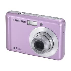 Samsung SL30 10MP Digital Camera with 3x Optical Zoom and 2.5 inch LCD (Pink): Camera & Photo