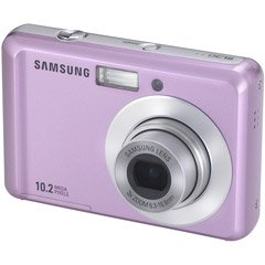 31qfE05utHL Samsung SL30 10MP Digital Camera with 3x Optical Zoom and 2.5 inch LCD (Pink)